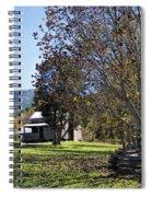 Cades Cove Tennessee Fall Scene Spiral Notebook