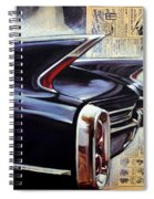 Cadillac Attack Spiral Notebook