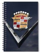 Cadillac Crest Spiral Notebook