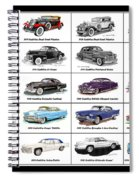 Cadillac La Salle Automotive Poster Spiral Notebook