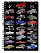 Never Enough Cadillacs  Spiral Notebook