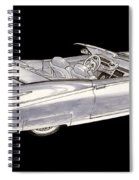 1963 64 Cadillac Roadster Concept Spiral Notebook