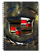 Cadillac Style Spiral Notebook