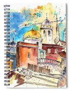 Cadiz Spain 02 Spiral Notebook