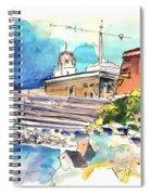 Cadiz Spain 11 Spiral Notebook