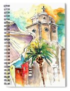 Cadiz Spain 12 Spiral Notebook