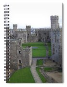 Caernarfon Castle Spiral Notebook