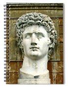 Caesar Augustus Spiral Notebook