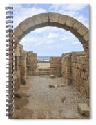 Caesarea The Hippodrome Spiral Notebook