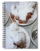 Cafe Au Lait And Beignets Spiral Notebook