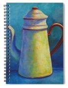 Cafe Au Lait Spiral Notebook
