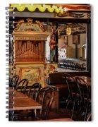 Cafe Chez Eugene - Montmartre Spiral Notebook
