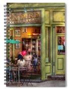 Cafe - Hoboken Nj - Empire Coffee And Tea Spiral Notebook