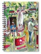 Cafe In Cazorla Spiral Notebook