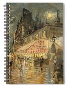 Cafe La Marin. Paris Spiral Notebook