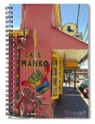 Cafe Mambo Paia Maui Hawaii Spiral Notebook