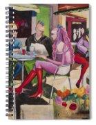 Cafe Marseille Spiral Notebook