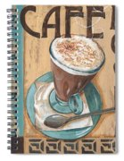 Cafe Nouveau 1 Spiral Notebook