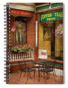 Cafe - The Best Ice Cream In Lancaster Spiral Notebook
