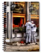 Cafe - The Painters Spiral Notebook