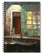 caffe Carlotta Spiral Notebook