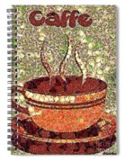 Caffe Spiral Notebook