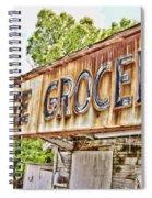 Caffee Grocery Spiral Notebook