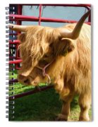 Caged Coo Spiral Notebook