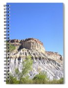 Caineville Mesa Caineville Utah Spiral Notebook