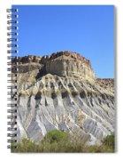 Caineville Mesa Utah Spiral Notebook