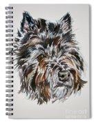 Cairn Terrier Martha Spiral Notebook