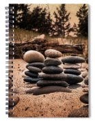 Cairn Whitefish Point Michigan Spiral Notebook