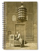 Cairo Funerary Or Sepuchral Mosque Spiral Notebook