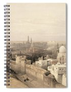Cairo Looking West, From Egypt Spiral Notebook