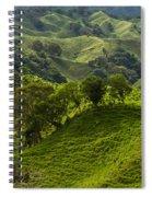 Caizan Hills Spiral Notebook