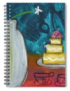 Cake And Tea For Two Spiral Notebook