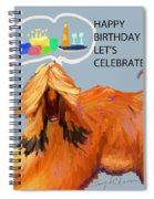Cake And Wine Spiral Notebook
