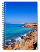 Cala Saona On Formentera Spiral Notebook
