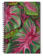 Caladiums Spiral Notebook