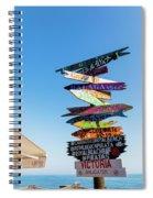 Calahonda, Mijas Costa, Costa Del Sol Spiral Notebook