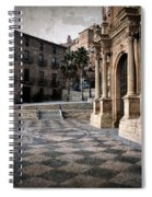 Calahorra Cathedral And Palace Spiral Notebook