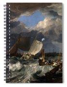 Calais Pier Spiral Notebook