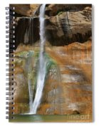 Calf Creek Falls 2 Spiral Notebook