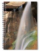 Calf Creek Falls Ut Usa Spiral Notebook