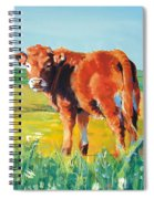 Calf Spiral Notebook