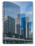 Calgary Glass Spiral Notebook