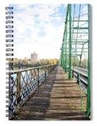 Calhoun Street Bridge Walkway Spiral Notebook