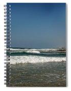 California Beach Spiral Notebook