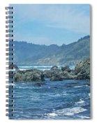 California Beaches 3 Spiral Notebook