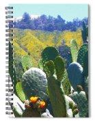 California Big Sur Flowers Spiral Notebook